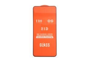 Защитное стекло 21D Full Glue для Asus Zenfone 6 (ZS630KL) черное 0,3 мм в упаковке