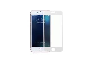 Защитное стекло 3D Full Cover для iPhone 6/6S Белый Полное покрытие айфон 6/6с