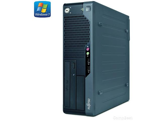 бу Fujitsu e5731 SFF / 4 ядра Intel Core 2 Quad q8200/q6600 / 6 ГБ DDR3 / 250ГБ HDD / НОВА nVIDIA GeForce GT 730 2 GB bit в Києві