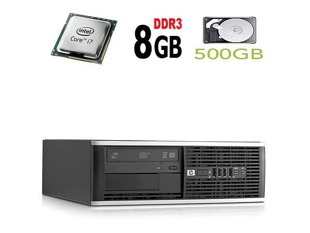 Компьютер HP 6300 Elite SFF / Intel Core i7-2600 (4(8) ядер по 3.4GHz) / 8 GB DDR3 / 500 GB HDD купить- объявление о продаже  в Киеве