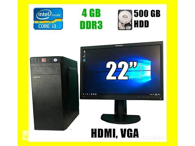 """Logic power / Core i3-2120 / 4GB DDR3/500GB HDD/350W /HDMI, VGA, USB + Монитор LT2252pwA /22"""" 1680x1050 /16:10 TN WLED- объявление о продаже  в Киеве"""