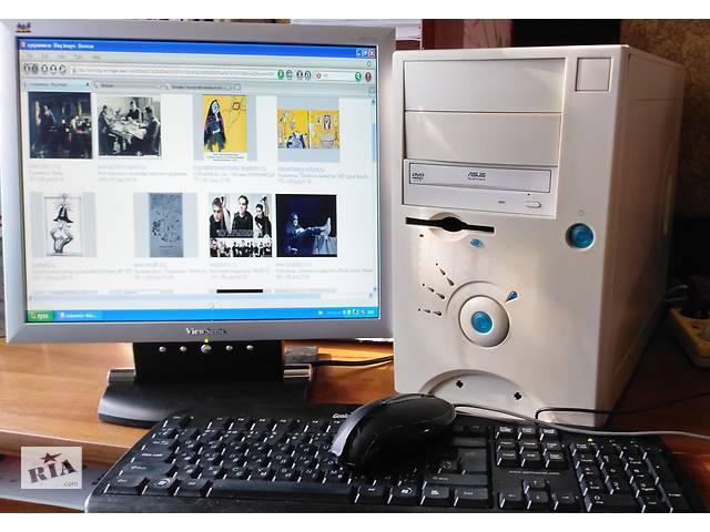 купить бу Продам компьютер (Системный, монитор, кла-ра, мышка) в Р/С в Николаеве