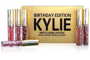Матовые помады Kylie Birthday Edition Gold