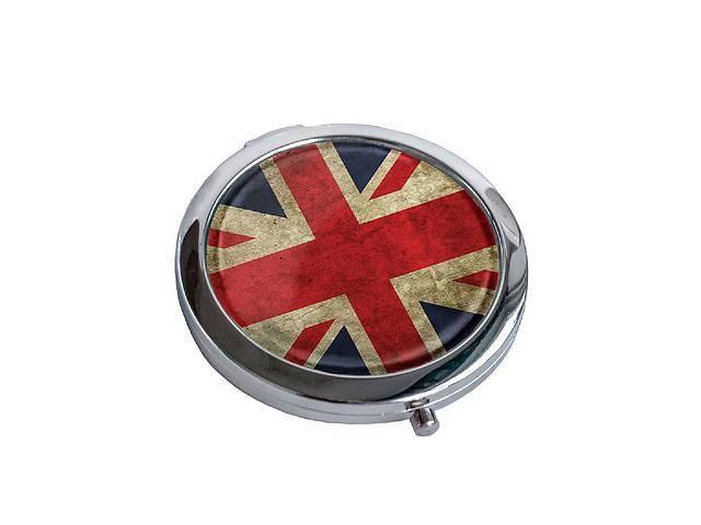 продам Зеркальце косметическое DM 01 Great Britain flag красная SKL47-176860 бу в Одессе