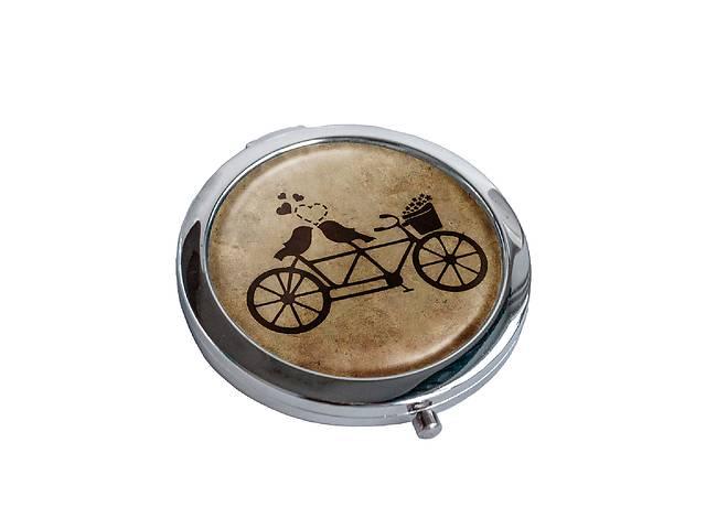 Зеркальце косметическое DM 01 Тандем коричневое - 176840- объявление о продаже  в Одессе