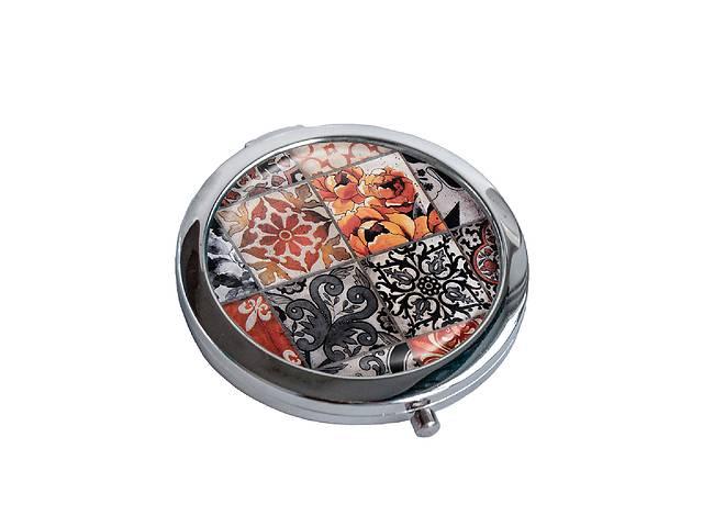 купить бу Зеркальце косметическое DM 01 Восточная мозаика коричневое - 176854 в Одессе