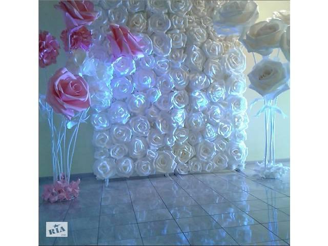 продам Декор большими цветами бу  в Украине