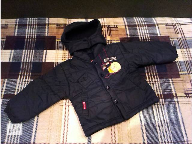 Демисезонная куртка на мальчика от 1,5 до 2,5 лет. Утепленная + флис. Грех не посмотреть!- объявление о продаже  в Краматорске