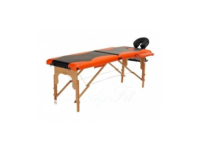 продам Деревянный 2-х сегментный стол для массажа 2 цвета бу в Львове