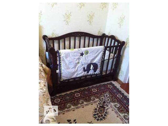 купить бу Детская кровать +набор постельного белья в Виннице