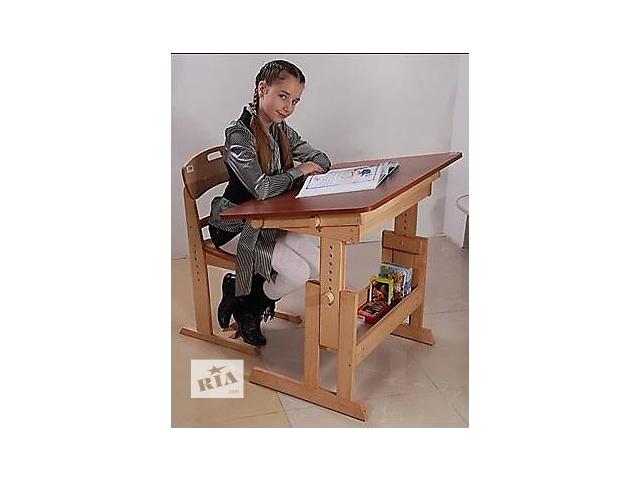 Детский стол-парта   Умница  ; растущая, регулируемая