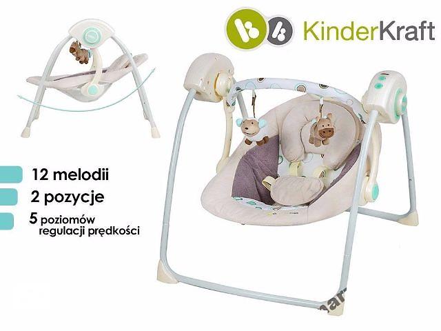 продам Детское коресло-качалка, люлька KinderKraft 0-9 кг бу в Львове