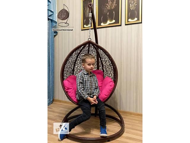 купить бу Детское подвесное кресло кокон.Кресло качалка,кресло шар в Киеве
