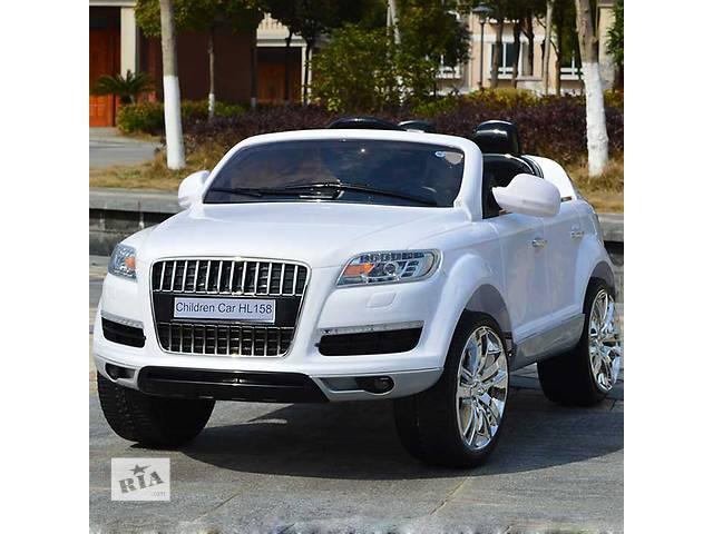 Детский электромобиль Audi Q7 EBLRS-1: 2.4G, кожа, EVA, 8 км/ч - WHITE PAINT- объявление о продаже  в Киеве