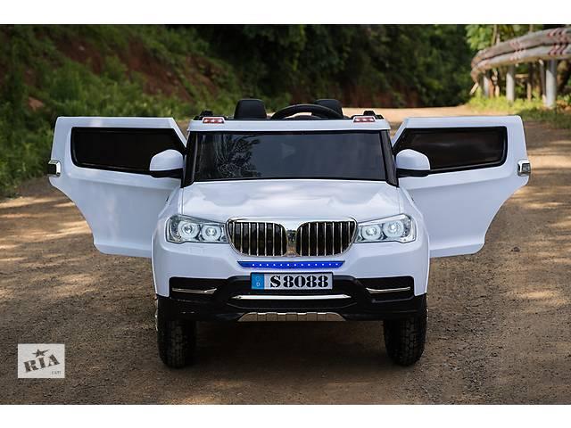 Детский электромобиль BMW S8088 - все 4 колеса ведущие, колеса мягкие EVA- объявление о продаже  в Днепре (Днепропетровск)