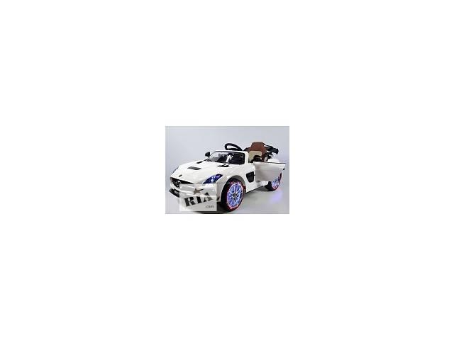 продам Детский электромобиль M 2760 EBRS-1 Мерседес-Benz AMG, (автокраска, белый) бу в Днепре (Днепропетровск)