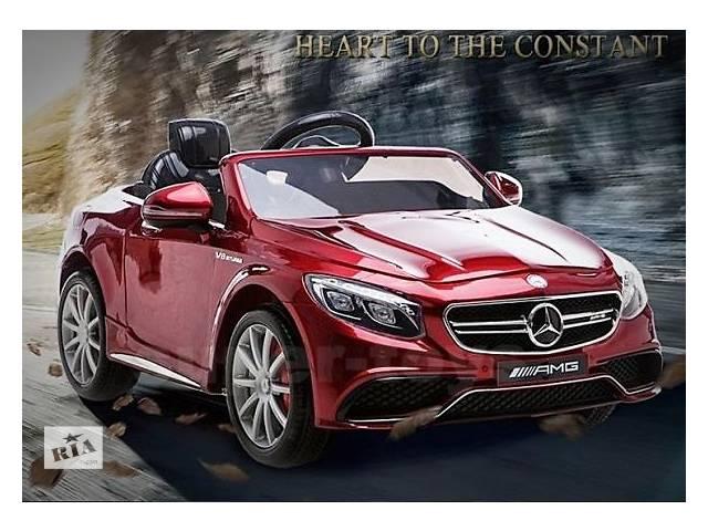 купить бу В наличии Детский электромобиль Mercedes AMG S63 HL169 по лучшей цене в Львове