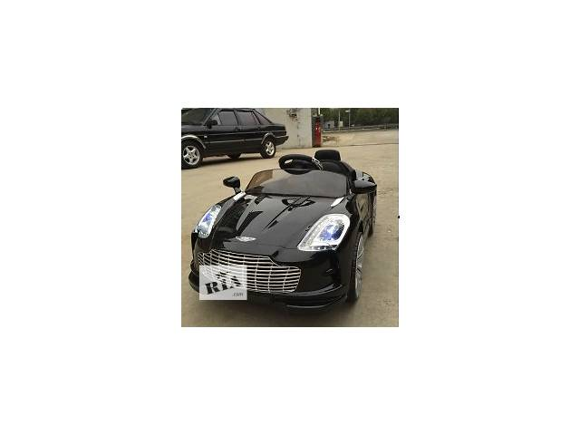бу Детский электромобиль M 2774 EBRS-2 Aston Martin, автопокраска, чёрный в Днепре (Днепропетровск)