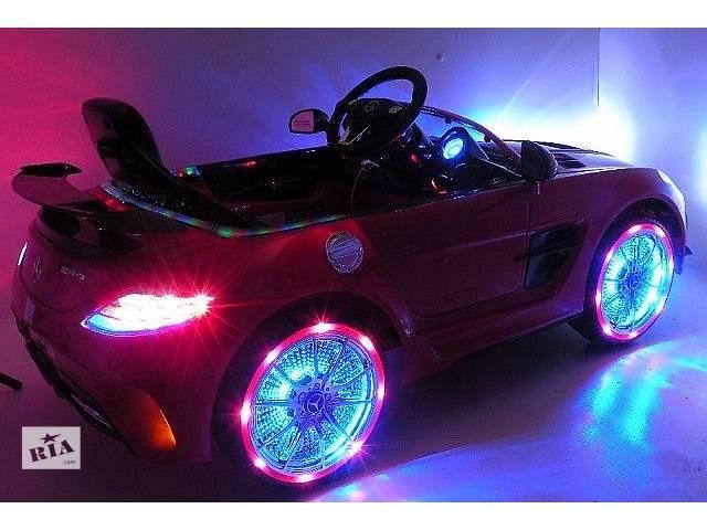 купить бу Детский электромобиль Mercedes-Benz M 2760 EBRS -3 Красный в Львове