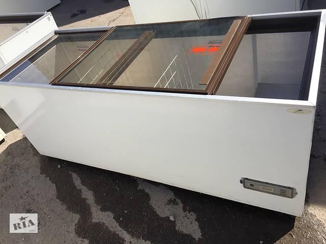 продам Для заморозки на 800л! Морозильный ларь под стеклом бу АНТ (Австрия) бу в Броварах