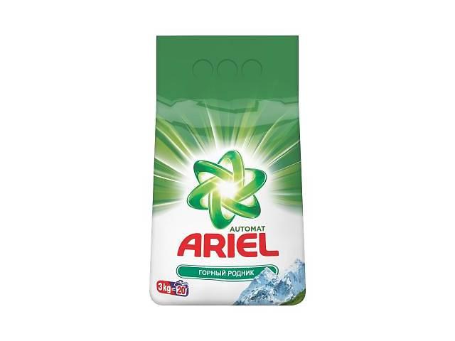 Стиральный порошок Ariel Горный Родник 3 кг (5413149333468)- объявление о продаже  в Киеве