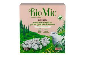 Таблетки для посудомоечной машины Bio Mio Bio-Total 7 в 1 с маслом эвкалипта, 30 шт