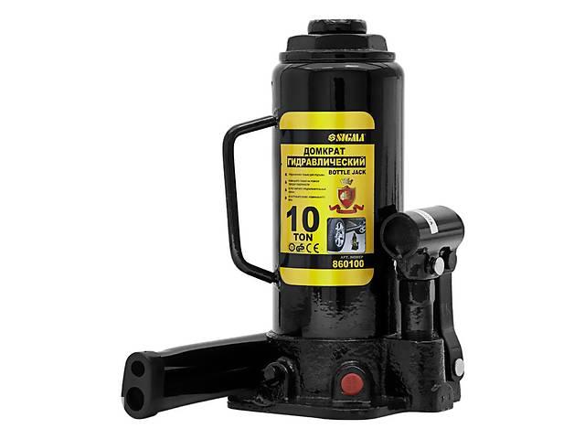 купить бу Домкрат гидравлический бутылочный 10т H 230-460мм sigma 6101101 в Дубно