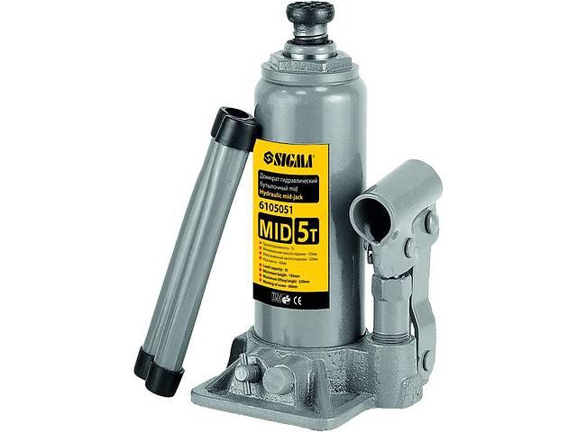 бу Домкрат гидравлический бутылочный mid 2т H 148-276мм sigma 6105021 в Дубно