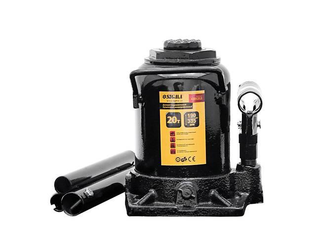 Домкрат гидравлический бутылочный низкопрофильный 20т H 190-335мм sigma 6101211- объявление о продаже  в Дубно