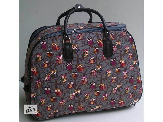 Дорожная сумка на колесах с выдвижной ручкой- объявление о продаже  в Виноградове