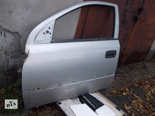 купить бу  Дверь передняя левая (водительская)  Opel Astra G. Б/у в хорошем состоянии, а также другие з/ч на A-G. в Днепре (Днепропетровск)