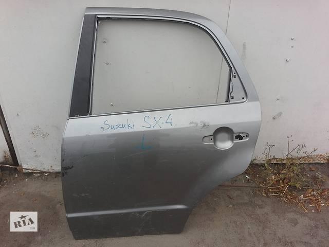 Дверь задняя (левая) б/у для Suzuki SX4 Хетчбек 2006, 2007, 2008, 2009, 2010, 2011, 2012, 2013- объявление о продаже  в Ровно