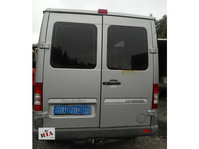 купить бу Дверь задняя правая левая, двері праві ліві Mercedes Sprinter Мерседес Спринтер W 903, 901 в Ровно