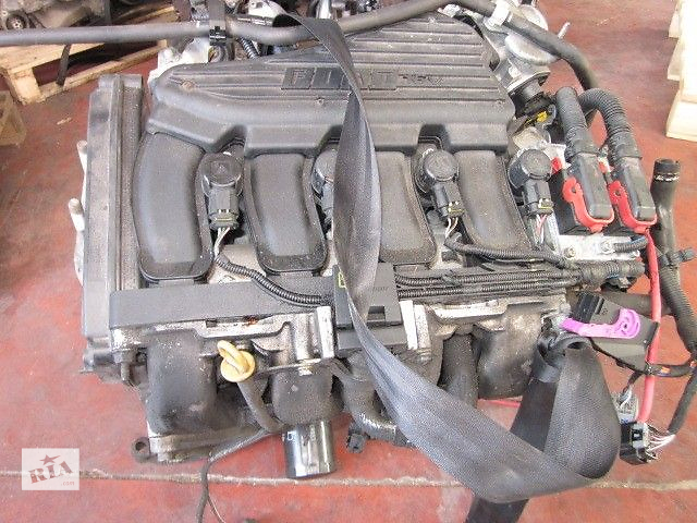 бу Двигатель без навесного Fiat Doblo 1.6 16V 223AXD1A (1596 куб.см.) 2000-2005 в Ковеле