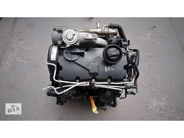 купить бу Двигатель BKC 1.9 TDI VW Golf 5 , Bora , Skoda Octavia , Passat B6 , Touran , Audi A3 в Киеве