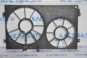 Диффузор кожух радиатора (голый) VW Beetle 12- 2.5 1K0121207BB9B9 разборка Алето Авто запчасти Фольксваген Битл
