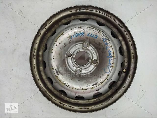Б/у Диск колёсный 5.5J R14 металл 5.5*14/4*100/49/56.6 OPEL COMBO 01-11  24432636- объявление о продаже  в Харькове