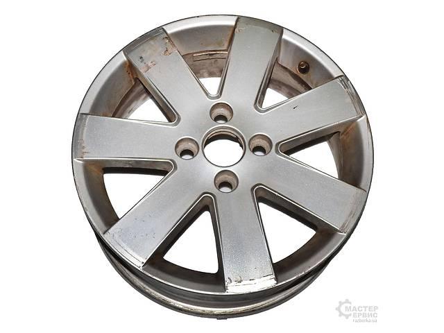 купить бу Диск колёсный 6.5J R16 литьё 16*6,5/4*108/52,5/63,4 FORD FIESTA 02-09 в Харькове