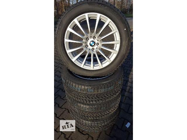бу  диск с шиной для легкового авто BMW 7 Series 2016 g11 g12.5x112.245/50/18.pirelli winter. в Ужгороде