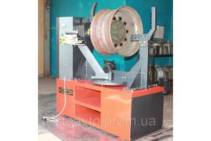 Дископравильный електрогидравличный станок для литых и стальных дисков