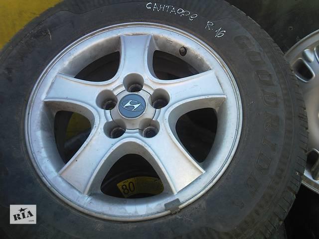 бу  Диски 16 для легкового авто Hyundai Santa FE в Ужгороде