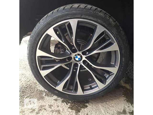 купить бу Диски колеса 21 R21 BMW X5, X6 E70 E71 F15 F16 styling стиль 599, 285/35/21 325/30/21. 6859423, 6859 в Луцке