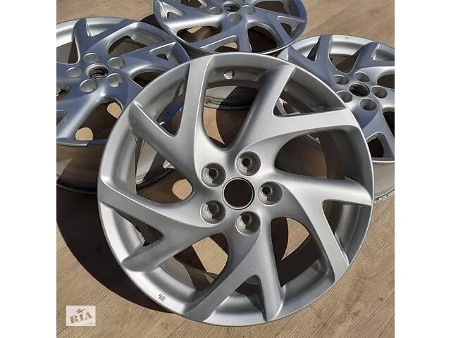 купить бу *Диски Mazda org. R18 5x114.3 7.5j et60 6 CX9 Kia Soul Hyundai Elantra Renault Honda в Львове