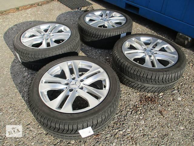 бу Диски Mercedes R17 5x112 ET47 7.5J с зимней резиной Michelin 225/45/R17 в Киеве