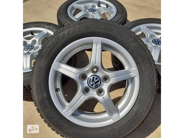 купить бу Диски VW R15 5x112 Passat Golf Caddy T4 Audi 100 A4 A6 Mercedes Skoda в Львове