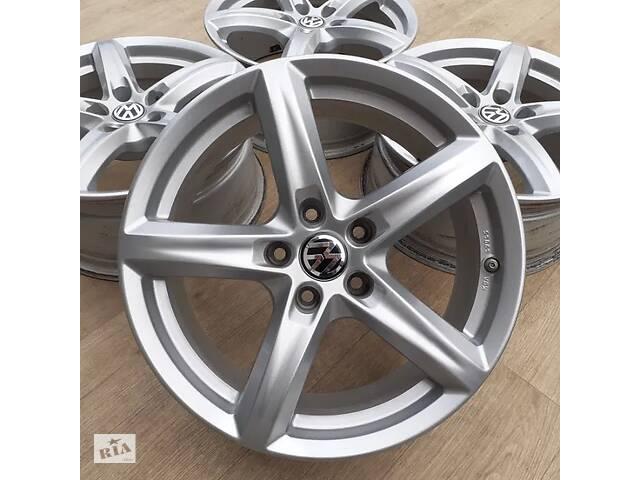 купить бу Диски VW R17 5x112 Passat B7 CC Touran Skoda Octavia A5 Audi A4 A6 Q5 в Львове