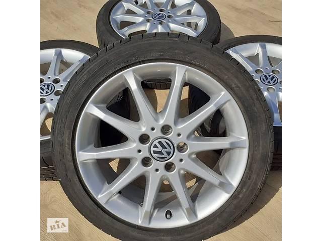бу Диски VW R17 5x112 VW Passat Golf Jetta T4 Touran Skoda Octavia Superb в Львове