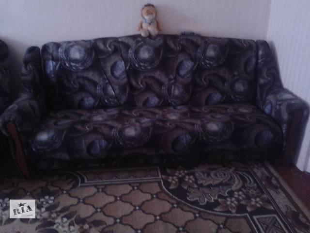 продам Диван c двумя креслами бу в Купянске