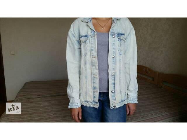 купить бу Джинсовая куртка, Zara, почти новая в Киеве
