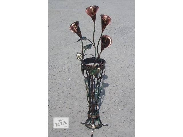 бу Эксклюзивные кованые цветы, букеты, вазы, подвазоники. в Виннице